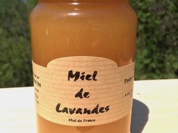 Vente avec paiement en ligne: Miel de lavande 500g