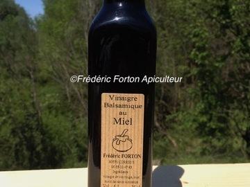 Vente avec paiement en ligne: Vinaigre balsamique au miel 25cL