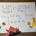 Live On-line Workshop: Kamishibai: Japanese Storytelling. Learn to create your own story