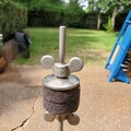 Selling with online payment: vintage Leedy 30s-40s hi hat stand $79 obo
