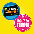 Contact us for more information: I Love the Burg & That's So Tampa
