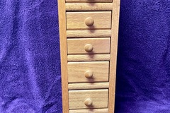 Selling with online payment: Small Oak Drawer storage