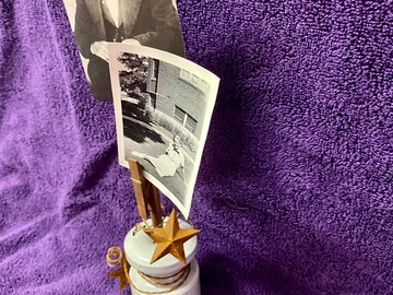 Selling with online payment: Ceramic Base Photo Holder