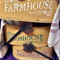 Selling with online payment: Farm House Basket