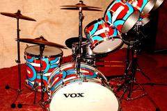 Show Off Your Drums! (no sales): Vox  Speedfire drum set