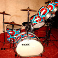 Show Off Your Drums! (no sales): Vox  Speedfire drum set
