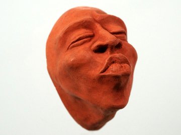 Selling with online payment: Wall Hanging Concrete Kiss Face