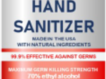 Sell your product: Hand Sanitizer 2oz spray bottle