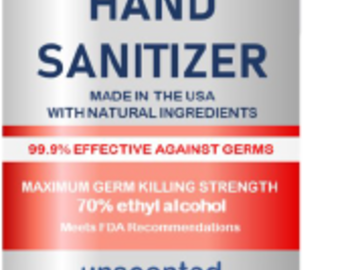 Sell your product: Hand Sanitizer 8 oz spray bottle