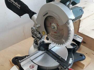 Renting out equipment (w/o operator): Metabo ks216 m Lasercut