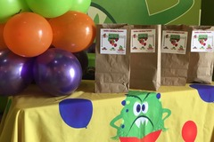 Book & Pay Online (per party package rental): Birthday Parade Party Pack