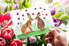 Selling with online payment: Thinking About You Card for Animal Lovers