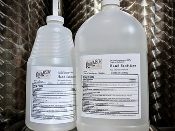 Products for Sale: Roulaison Distilling Hand Sanitizer - 0.5 GAL