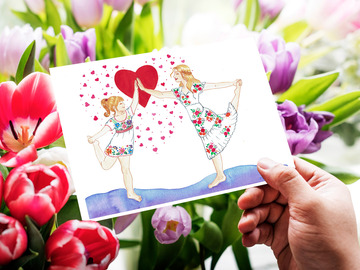 Selling with online payment: Love Collection Cards for Mothers & Daughters