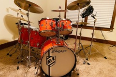 Show Off Your Drums! (no sales): New Chicago Drum set