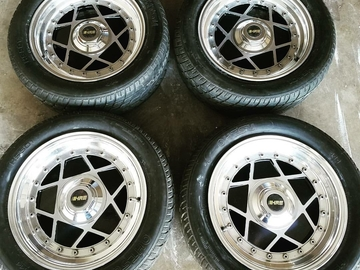Selling: Vintage HRE 505 Wheels and Tires
