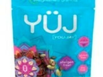 Selling with online payment: YÜJ Granola-  8 Snack Packs