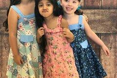 Buy Now: 30 Beautiful Kids Clothing Girls Fashion Sun dresses Casual wear