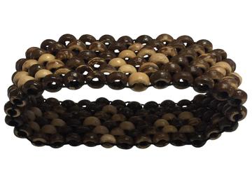 Buy Now: 30 Coconut Shell Bracelets Men Women Beads Ethnic Tribal Handmade
