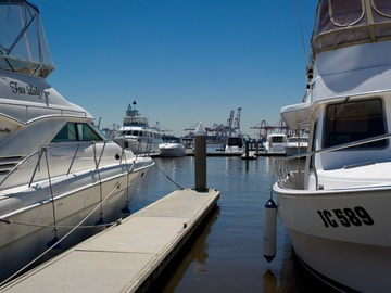 Rent By The Day (Calendar availability option): 14m Berth Pier 35 d'Albora Marinas