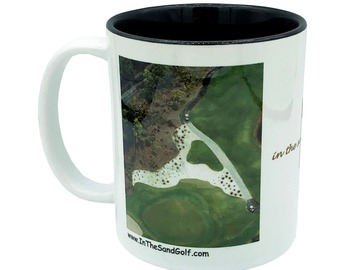 Selling with online payment: A-Z Initial Golf Mug In The Sand Golf