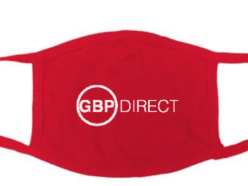 Products for Sale: 3-Ply Full Color Polyester Logoed Masks