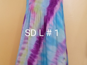 Selling with online payment: Ladies Tie-Dye Tank Sundress