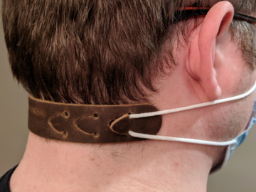 Sell your product: Leather Ear Saver