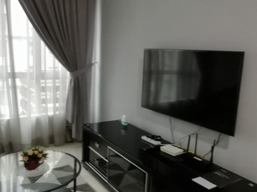 Homestay Booking: E-Tiara Fully Furnished 2Rooms 2 Bath with WIFI, LCD TV etc etc