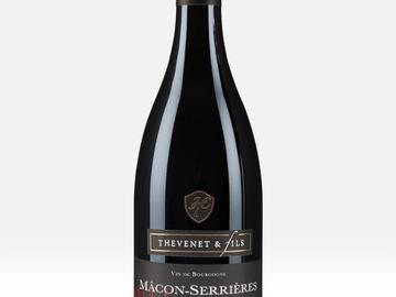 Vente avec paiement en direct: Carton de 6 bouteilles : Mâcon Serrières Rouge V. Vignes 2018