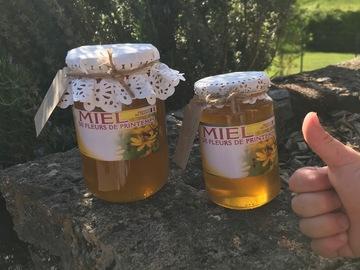 Vente avec paiement en direct: Miel de printemps