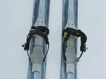 Renting out (per day): Liukulumikenkä POLAR SKI STUMPY 148 CM SKIN