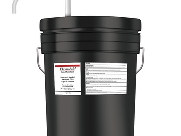 Sell your product: 5-Gallon Pail ChromaSafe™ Hand Sanitizer w/ Pump