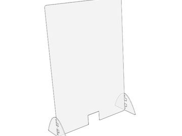 "Products for Sale: Standard Sneeze Guard | Vertical 32"" H x 24"" W"