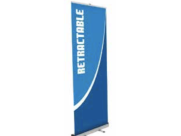 Products for Sale: Directional Signage: Banner Stands