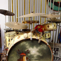 Show Off Your Drums! (no sales): 1934 LEEDY Full Dress set with diamond appliques