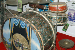 Show Off Your Drums! (no sales): 1936 Ludwig & Ludwig Peacock pearl drum set
