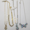 Compra Ahora: 250 PIECE RHINESTONE NECKLACE HIGH QUALITY MIX LOT COLORS/ETC