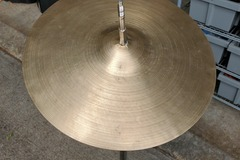 """Selling with online payment: 12"""" A. Zildjian Splash cymbal repaired"""