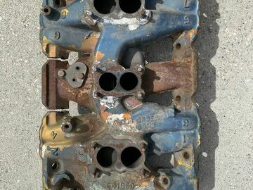 Selling with online payment: 62 Pontiac tri-power intake manifold