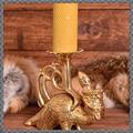 Verkaufen mit Widerrufsrecht (Gewerblicher Anbieter): Replik eines mittelalterlichen Kerzenständers