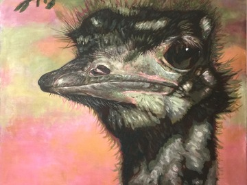 Selling : Ostrich in Shadow