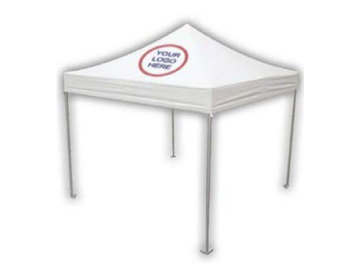Products for Sale: 10x10 Heavy Duty Popup Tent with your Logo on 2 sides