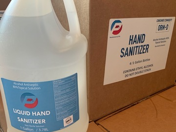 Sell your product: Liquid Hand Sanitizer - Gallon Bottle with Flip Cap