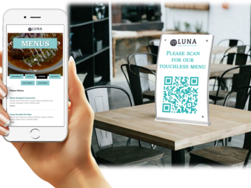 Sell your product: Touchless Menu Solution