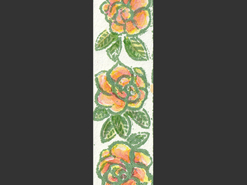 Selling with online payment: Block Print Bookmark