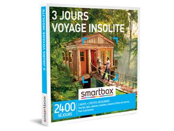 "Vente: Smartbox ""3 jours voyage insolite"" (139,90€)"