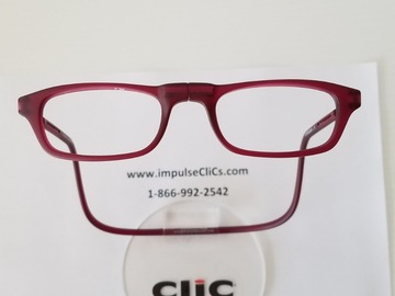 Selling with online payment: CliC Reading Glasses