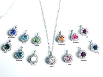 Buy Now: 48 pcs Halo Necklaces all made with Swarovski Elements Crystals
