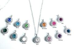 Compra Ahora: 48 pcs Halo Necklaces all made with Swarovski Elements Crystals